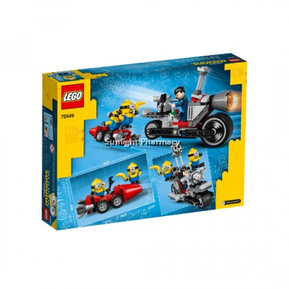Lego Minions Unstoppable Bike Chase 6+Yrs #75549