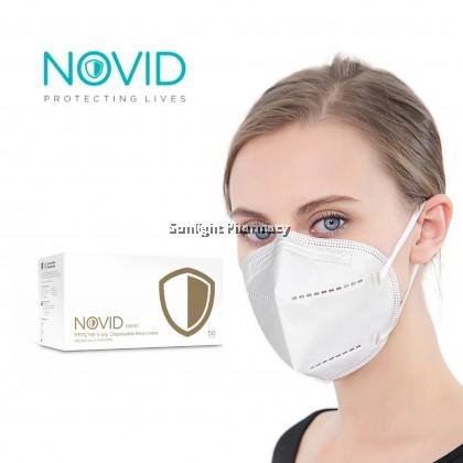 NOVID N95 5-Ply Respirator Mask Individual Pack (1pc)