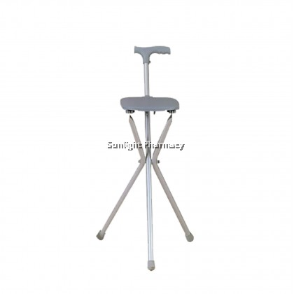 Ezylife Walking Aid With Seat FS940L (Square Seat)